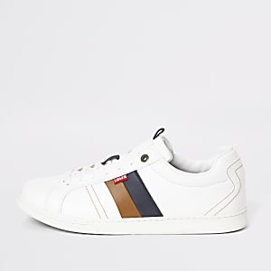 Levi's white Tulare sneakers