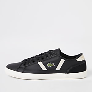 Lacoste Sideline black leather sneakers