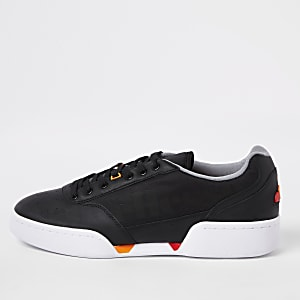 Ellesse grey Piacentino leather sneakers
