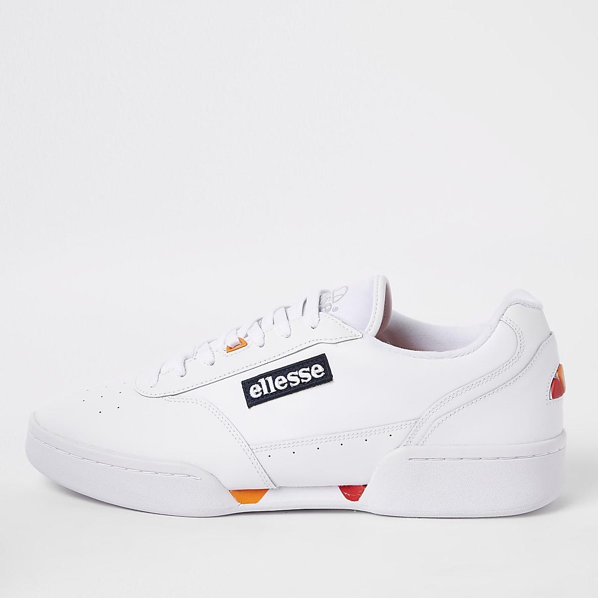 Ellesse – Piacentino – Weiße Sneaker aus Ledr