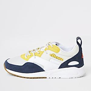 Ellesse – Potenza Lunar – Weiße Sneaker aus Leder