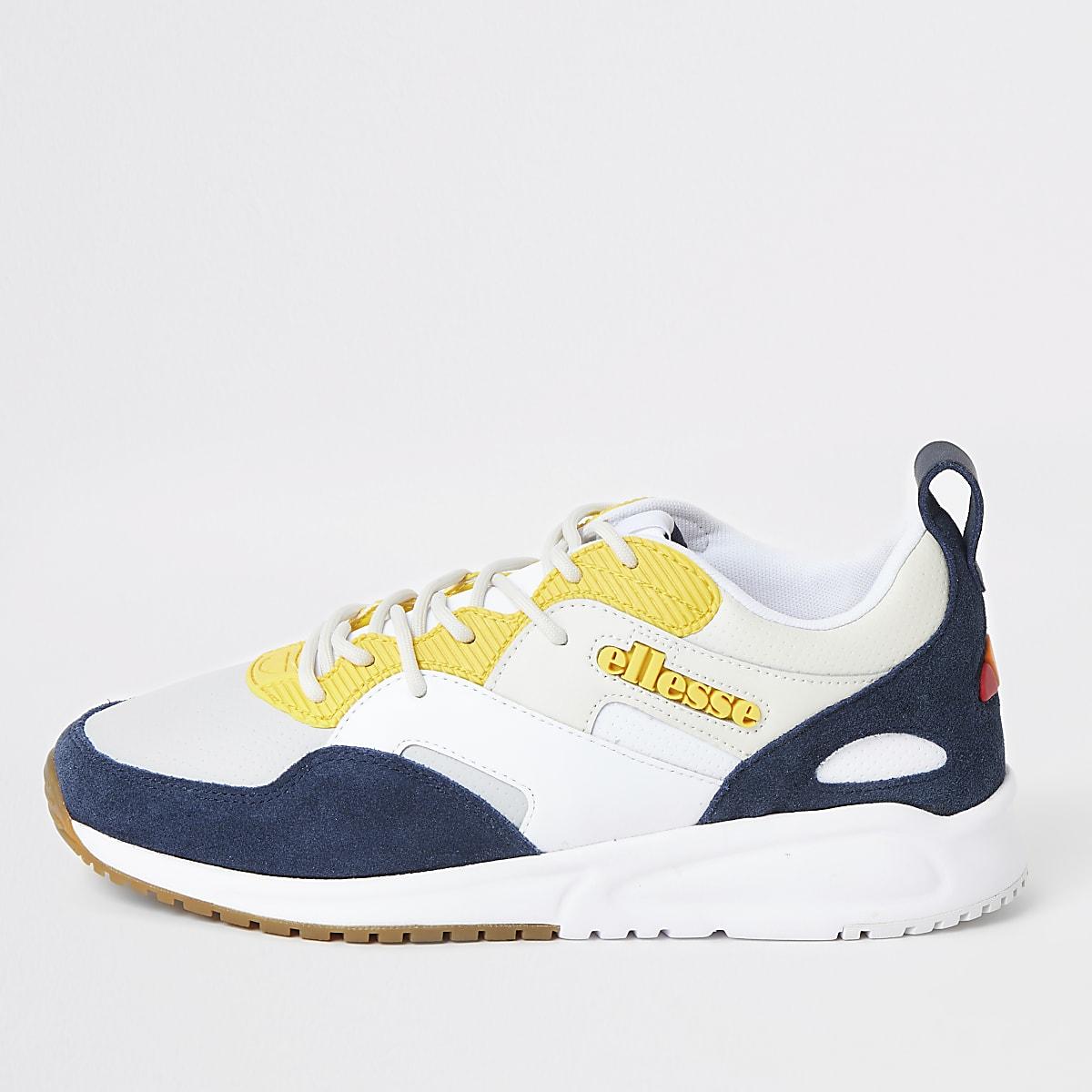 Ellesse Potenza Lunar - Witte leren sneakers