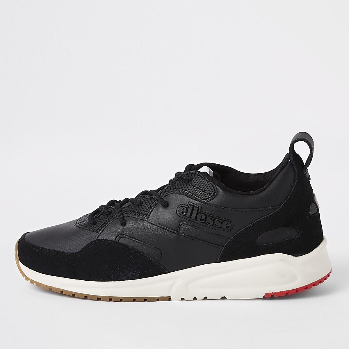 64d11ebc7e1 Ellesse - Zwarte Potenza sneakers van leer - Sneakers - Schoenen ...
