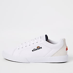 Ellesse white Taggia canvas sneakers