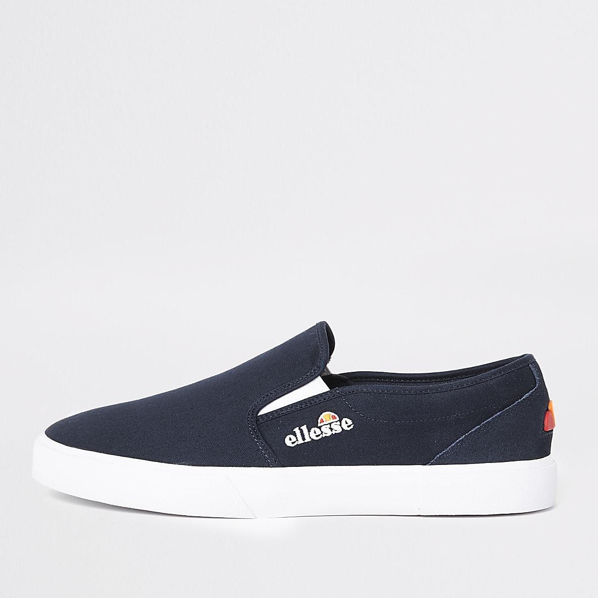 Ellesse – Prazzo – Marineblaue Sneaker