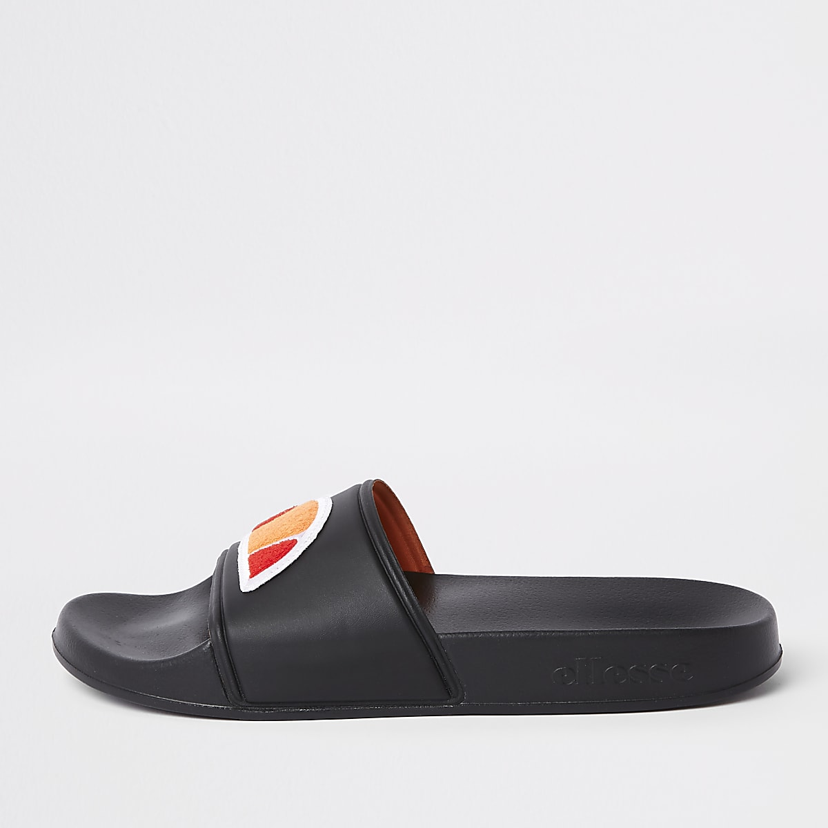 6297b6ef106 Ellesse black sliders