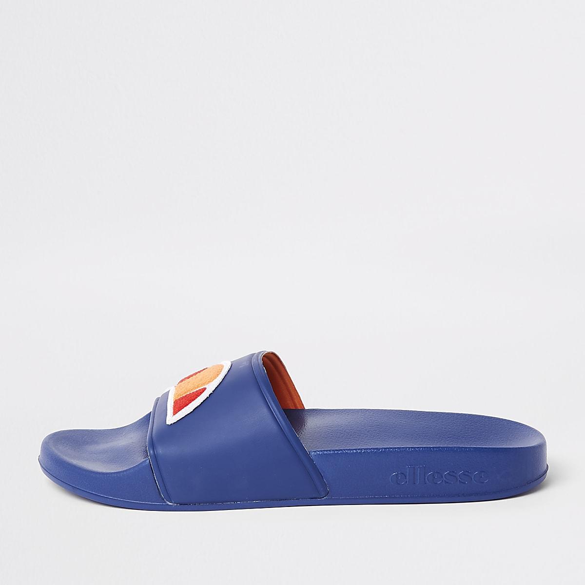 Ellesse blue sliders