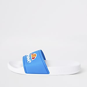 Ellesse blue sliders