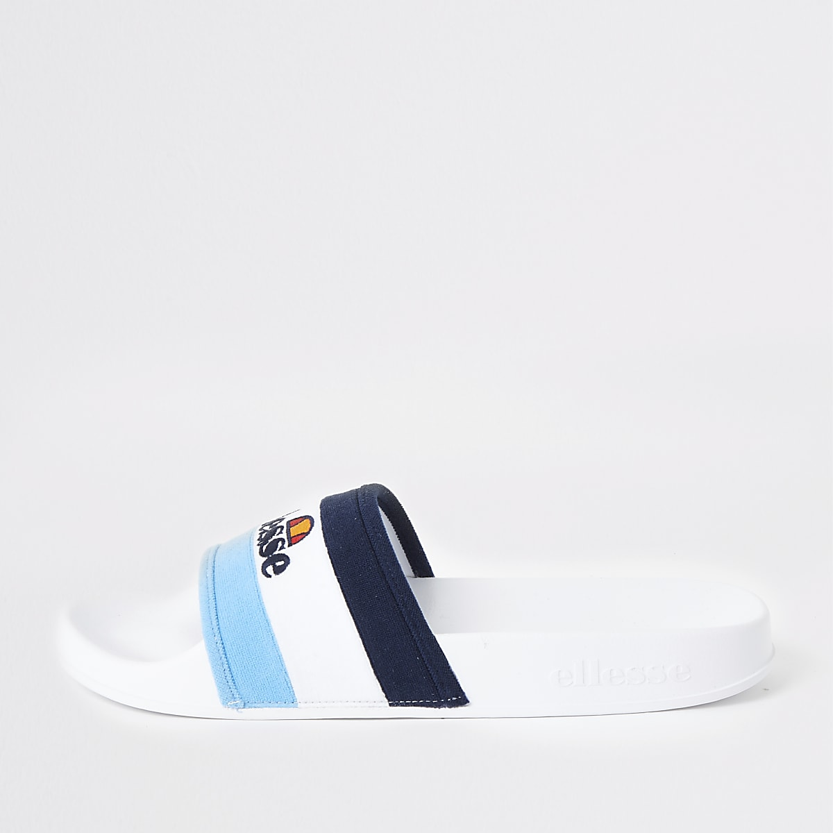 Ellesse blue stripe sliders