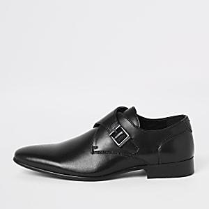 Zwarte schoenen met gesp