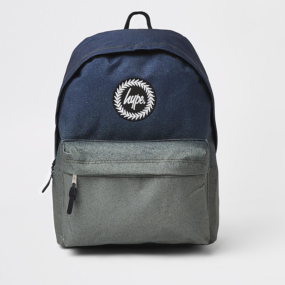 Hype khaki ombre backpack