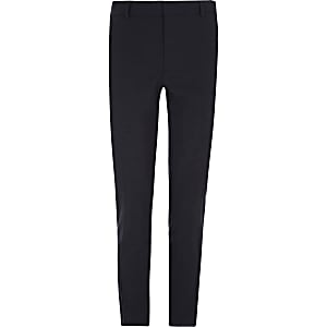 Big and Tall navy smart trousers