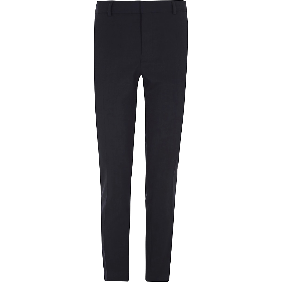 Big and Tall – Pantalon habillé bleu marine