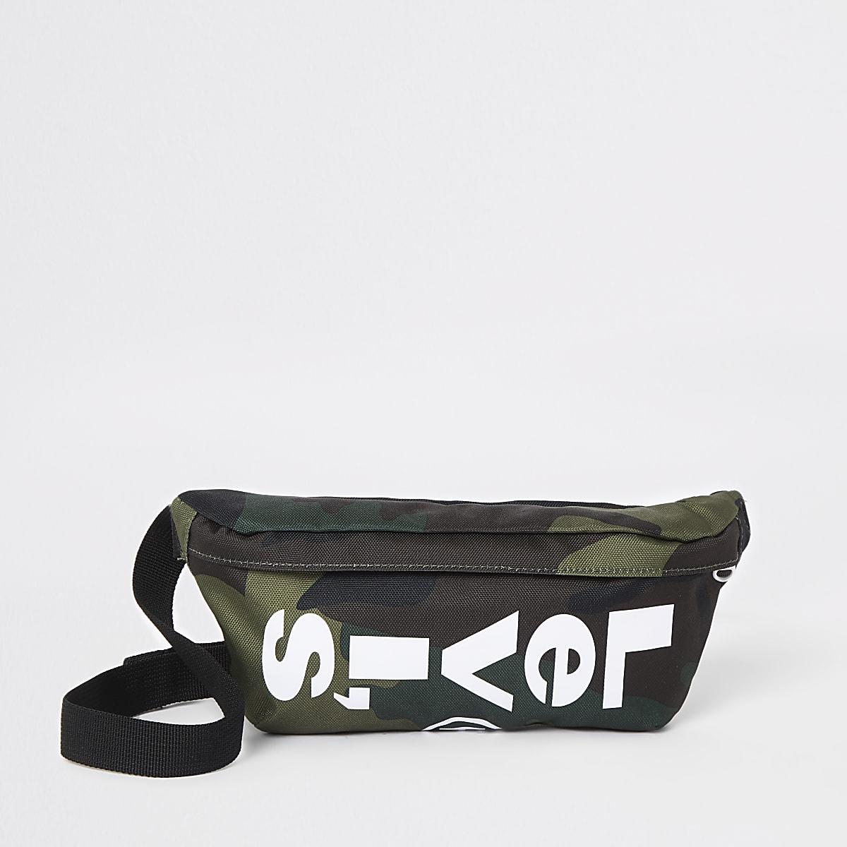 Levi's khaki camo cross body bag