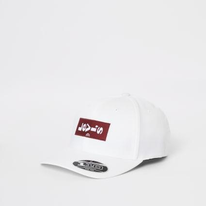 Levi's white tab cap