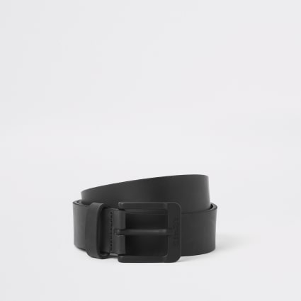 Levi's black buckle leather belt