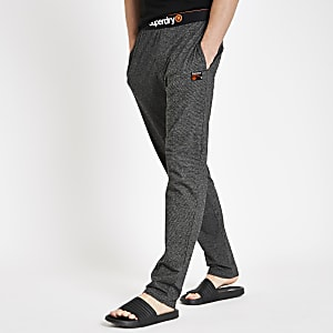 Superdry – Graue Loungewear Hose