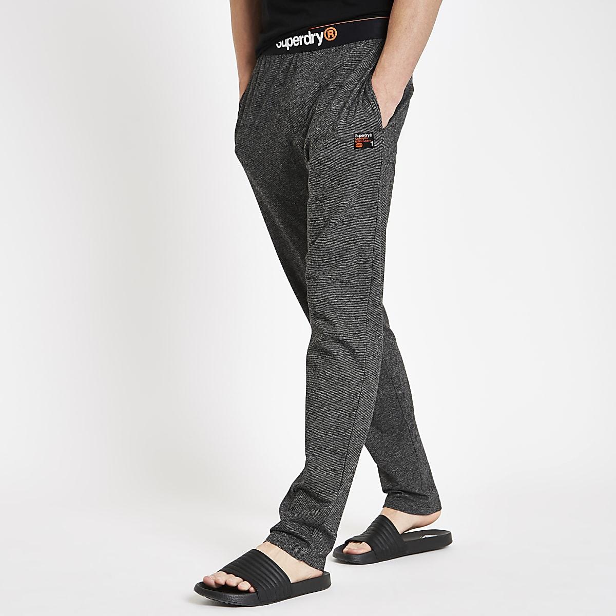 Superdry ‒ Pantalon confort gris