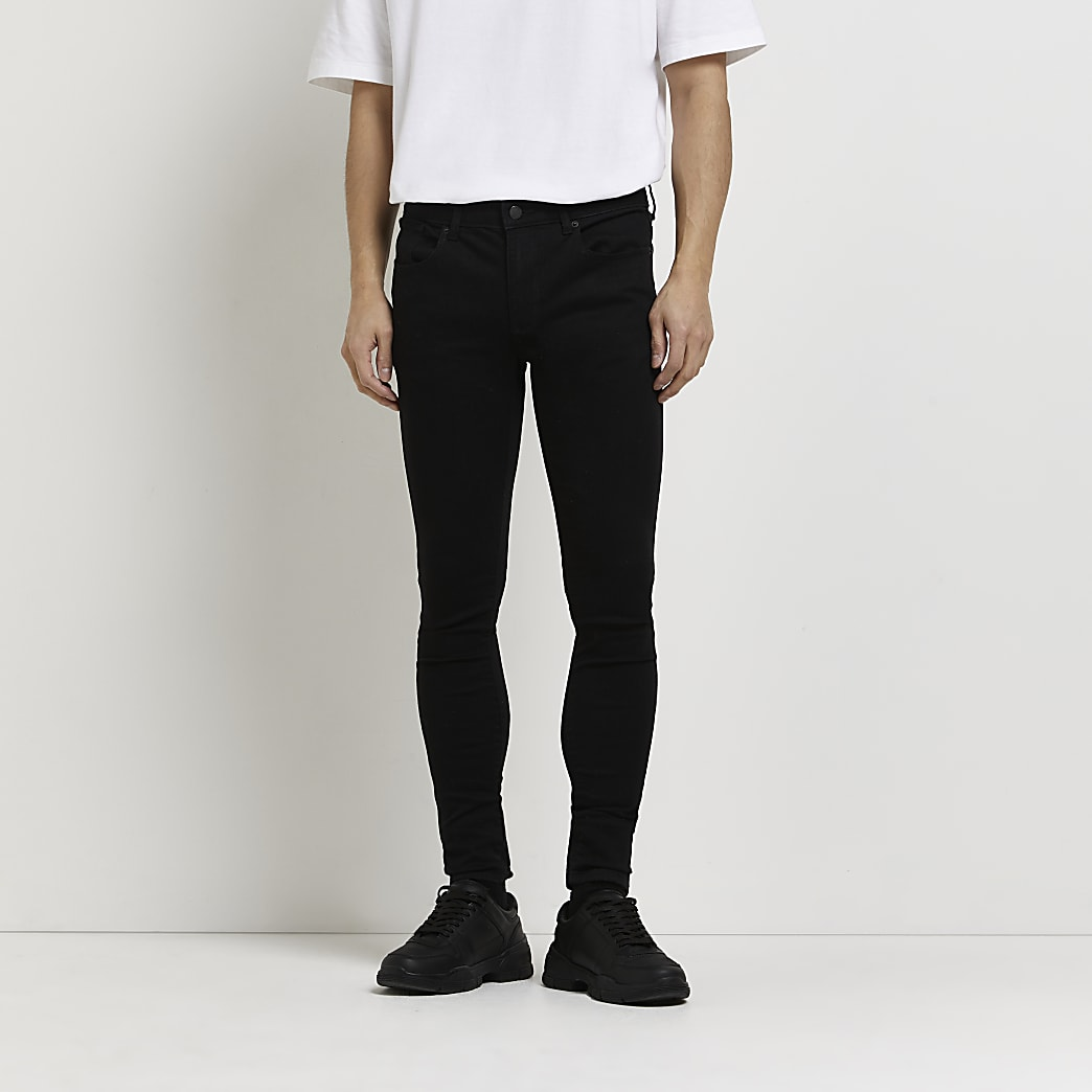Black Ollie spray on skinny jeans