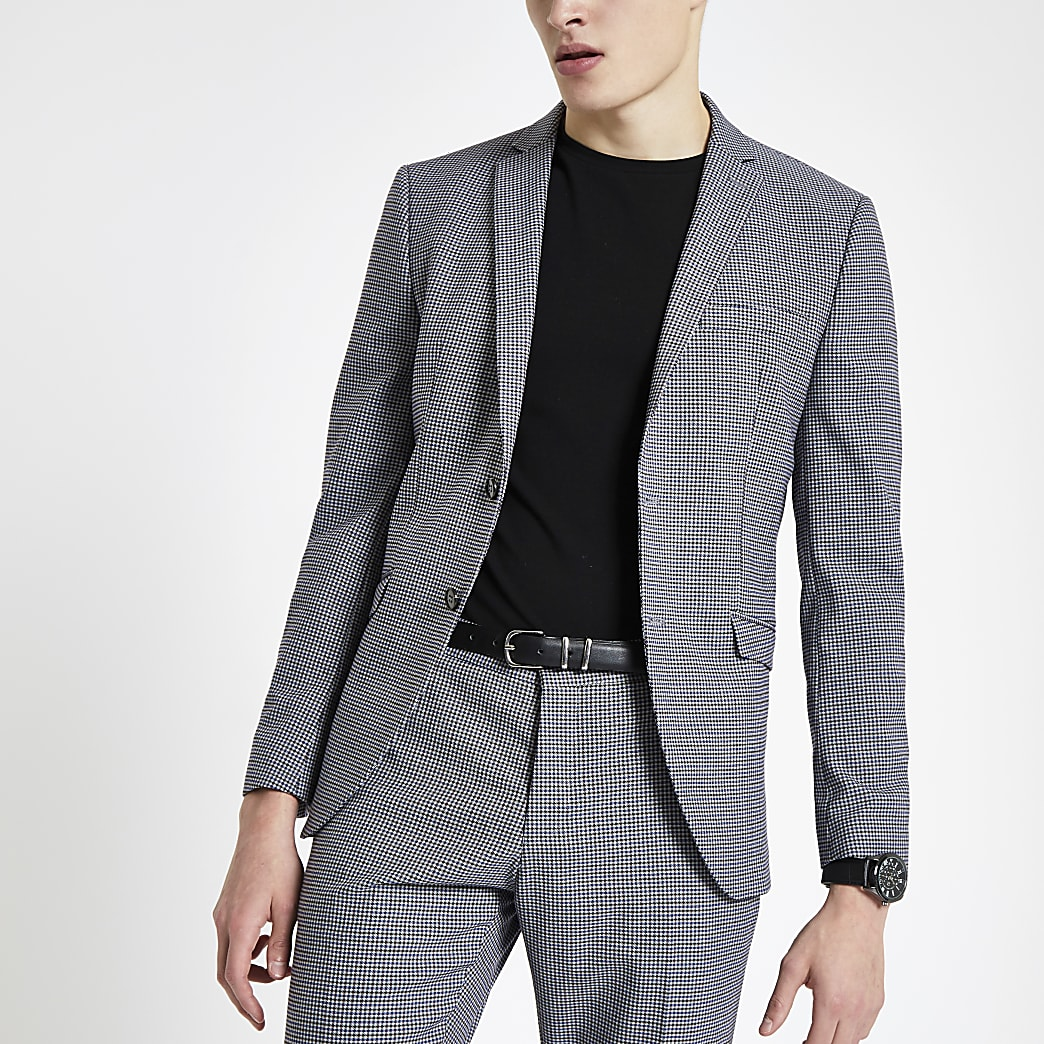 Selected Homme – Veste de costume slim grise