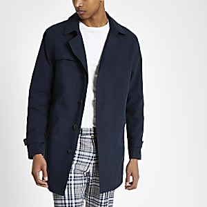 Selected Homme – Marineblauer Trenchcoat