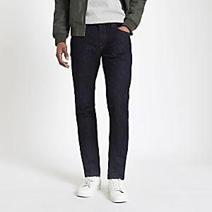 Selected Homme – Blaue Slim Fit Jeans