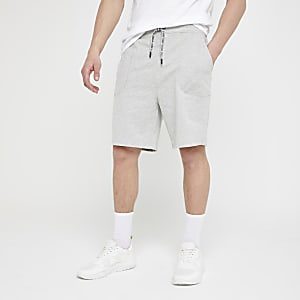 Only & Sons – Graue Jersey-Shorts