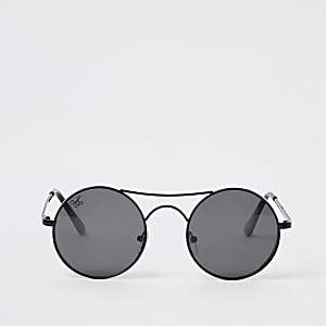 Jeepers Peepers black aviator sunglasses