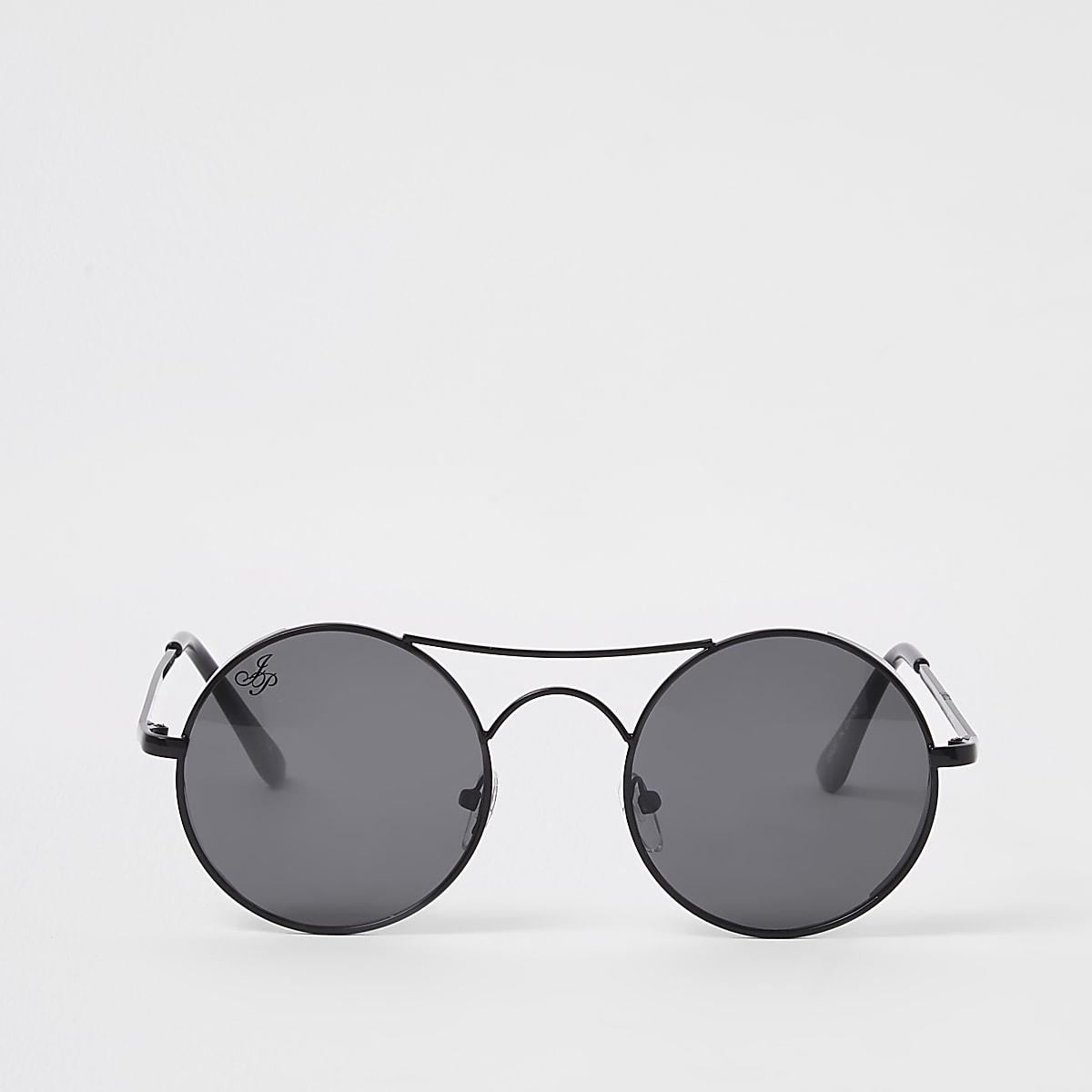 Jeepers Peepers black aviator sunglasses