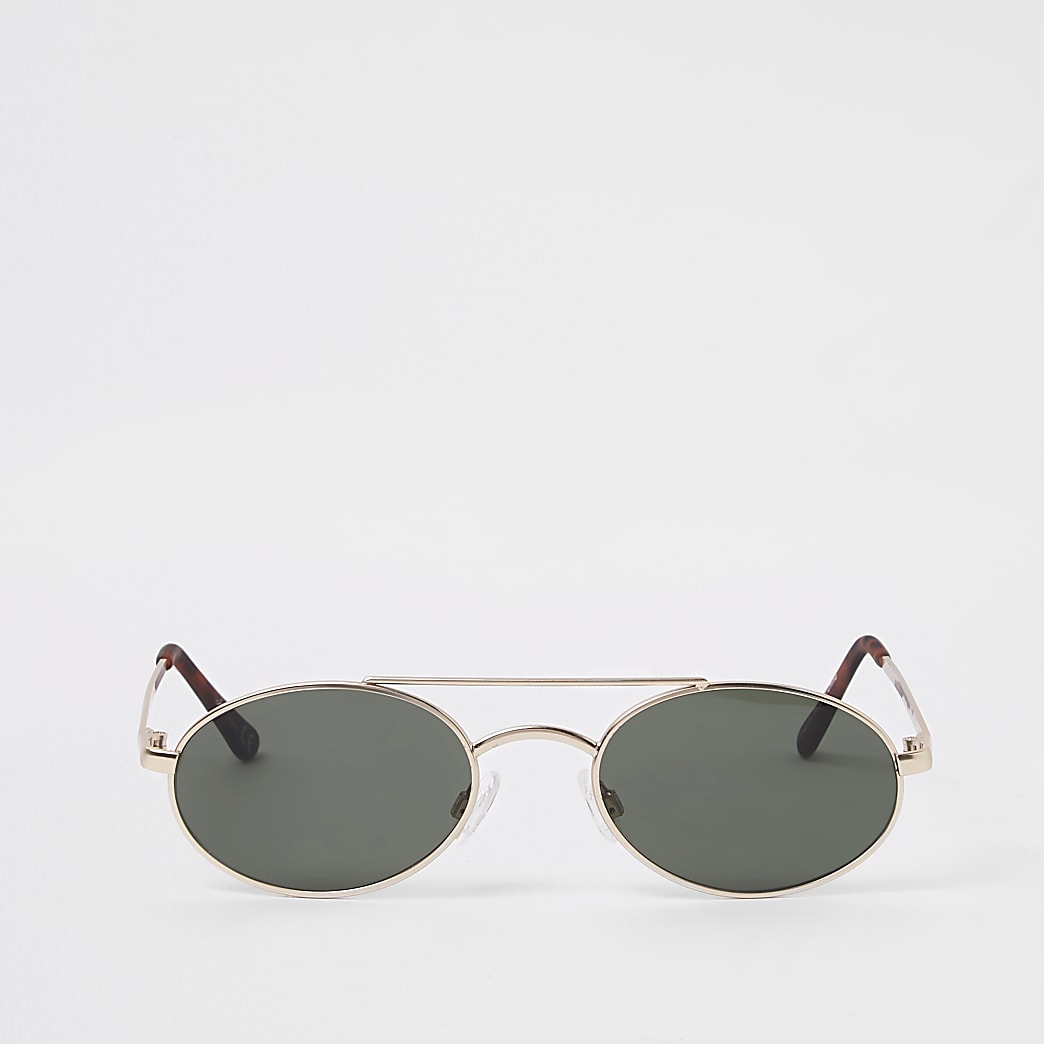 Jeepers Peepers grey aviator sunglasses