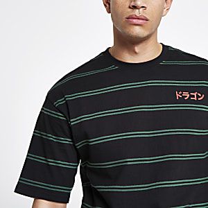 Only & Sons black stripe T-shirt