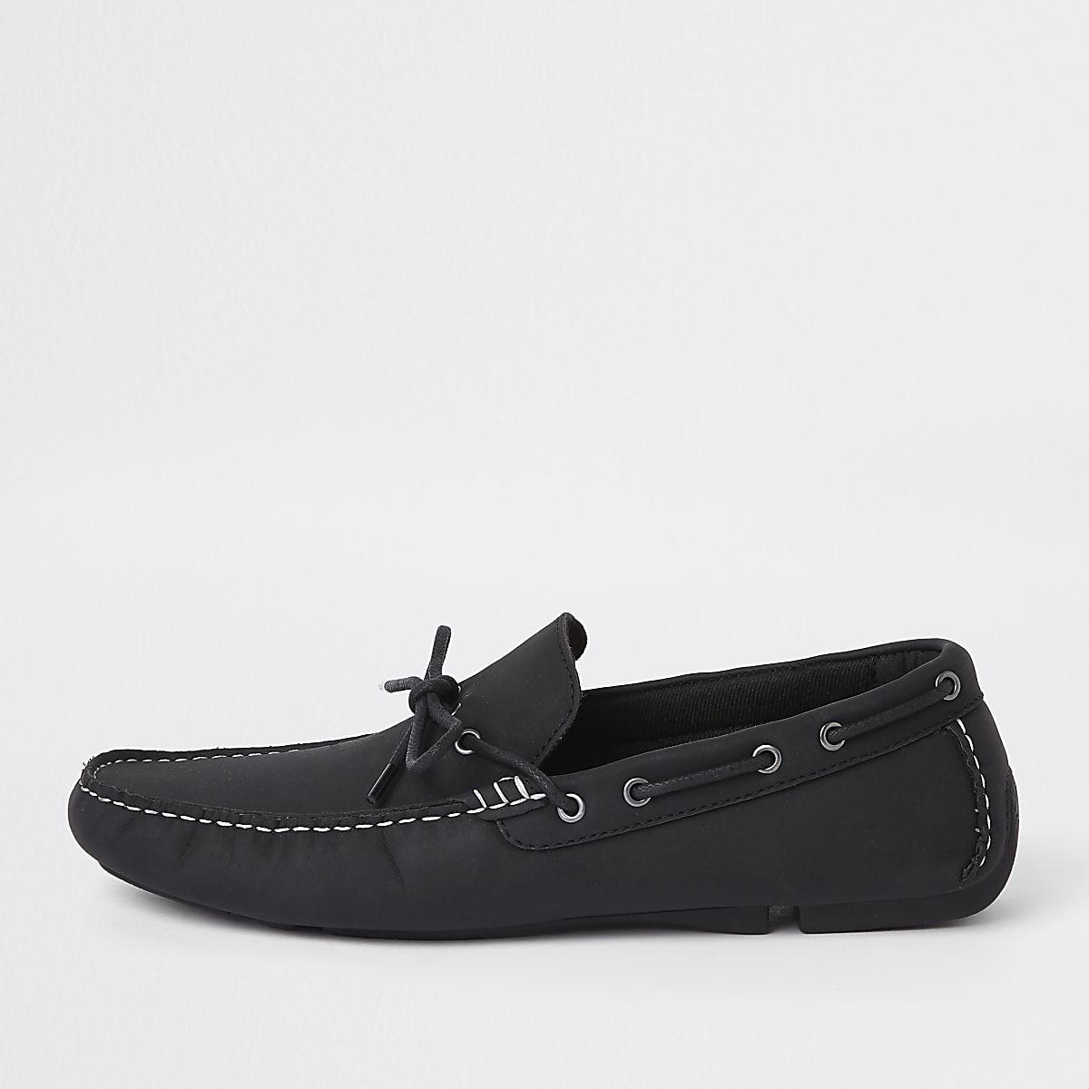 Black driving shoes