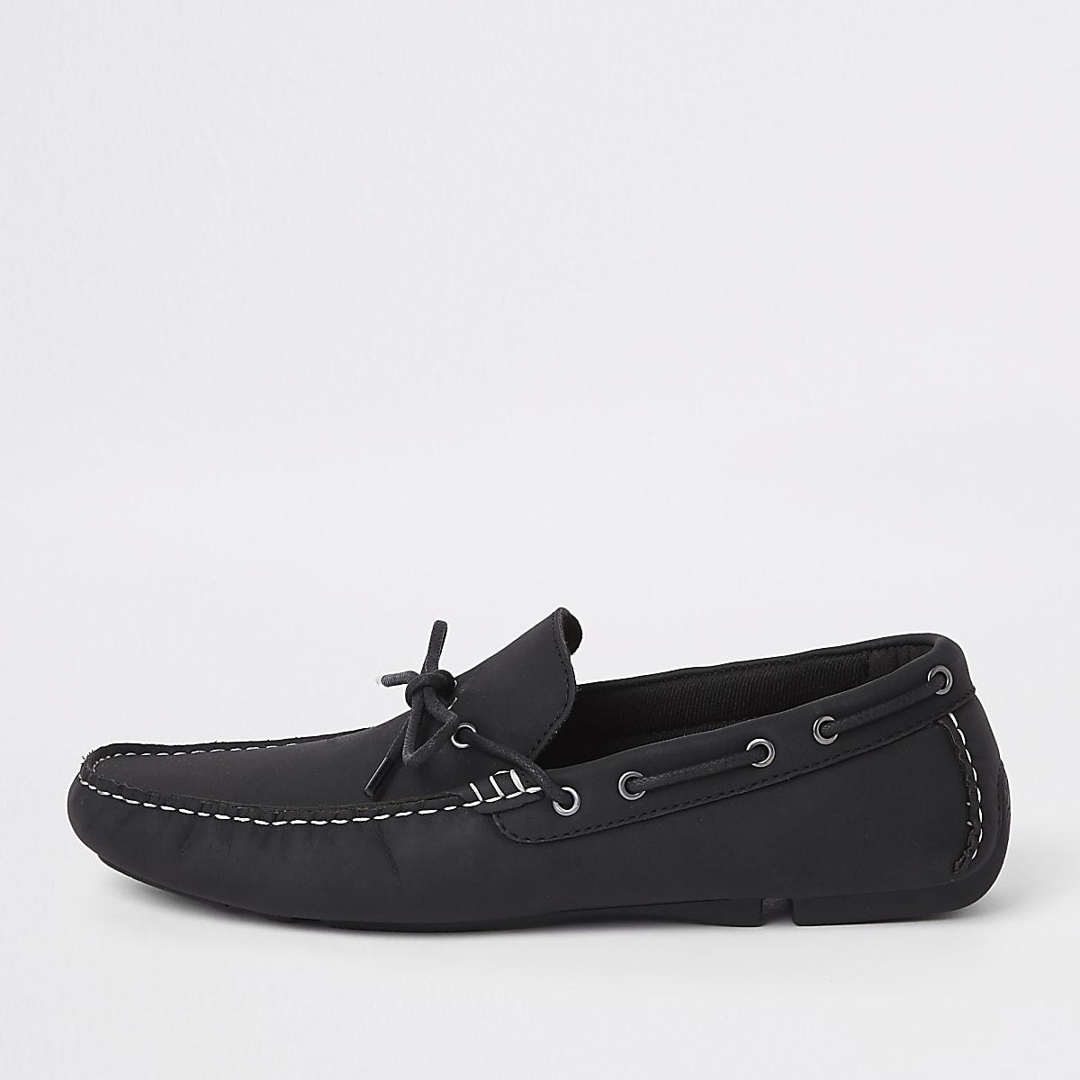Chaussures de conduite noires