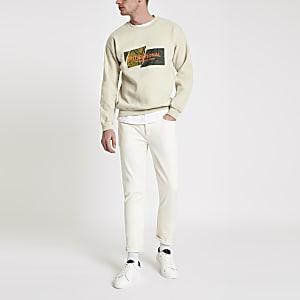 """Sweatshirt """"International"""" mit Rundhalsausschnitt"""