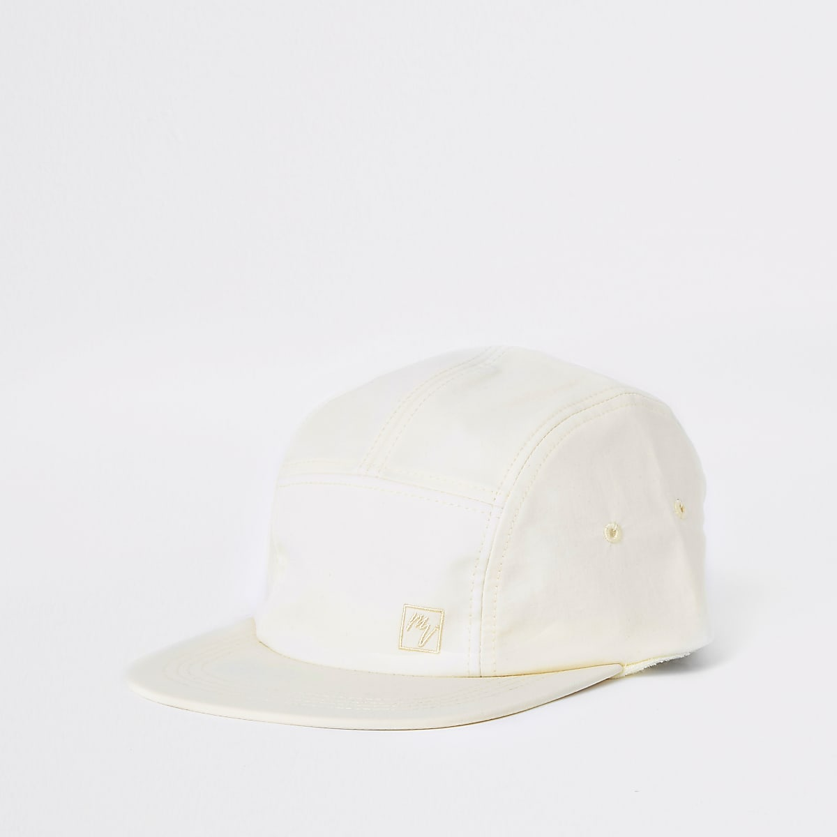 Ecru 'Maison Riviera' five panel cap