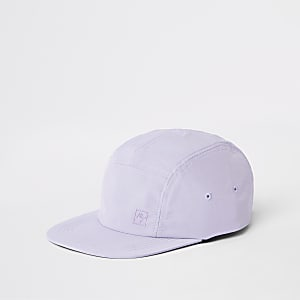 Lilac Maison Riviera five panel cap