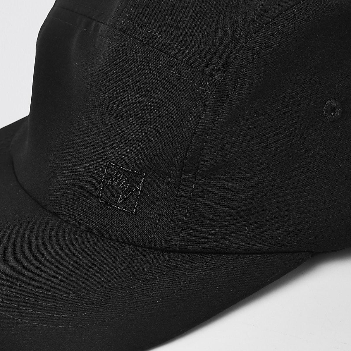 e91355073a117 Black  Maison Riviera  five panel cap - Hats   Caps - Accessories - men