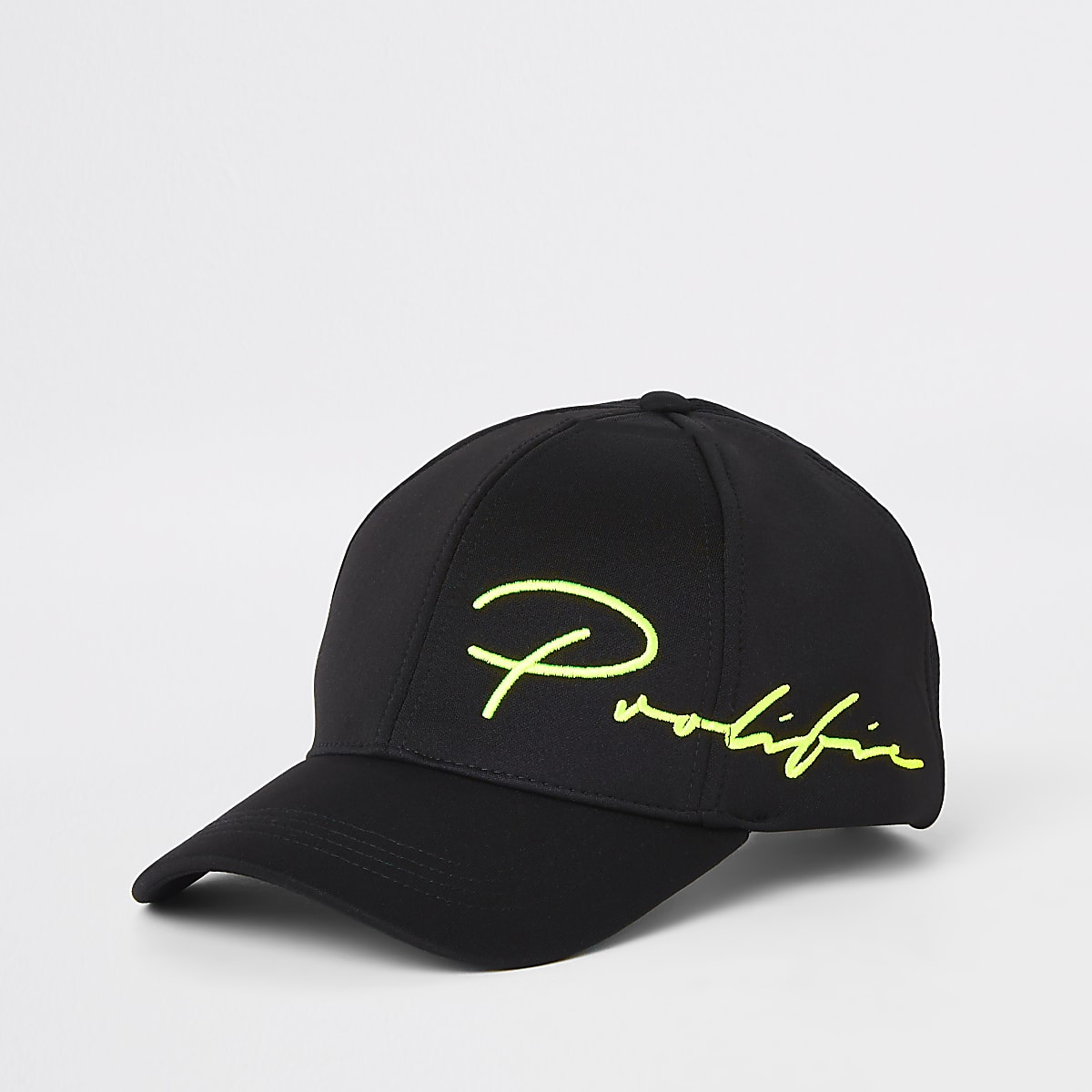 Black 'Prolific' embroidered baseball cap