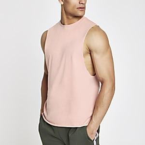 Pink tank tank