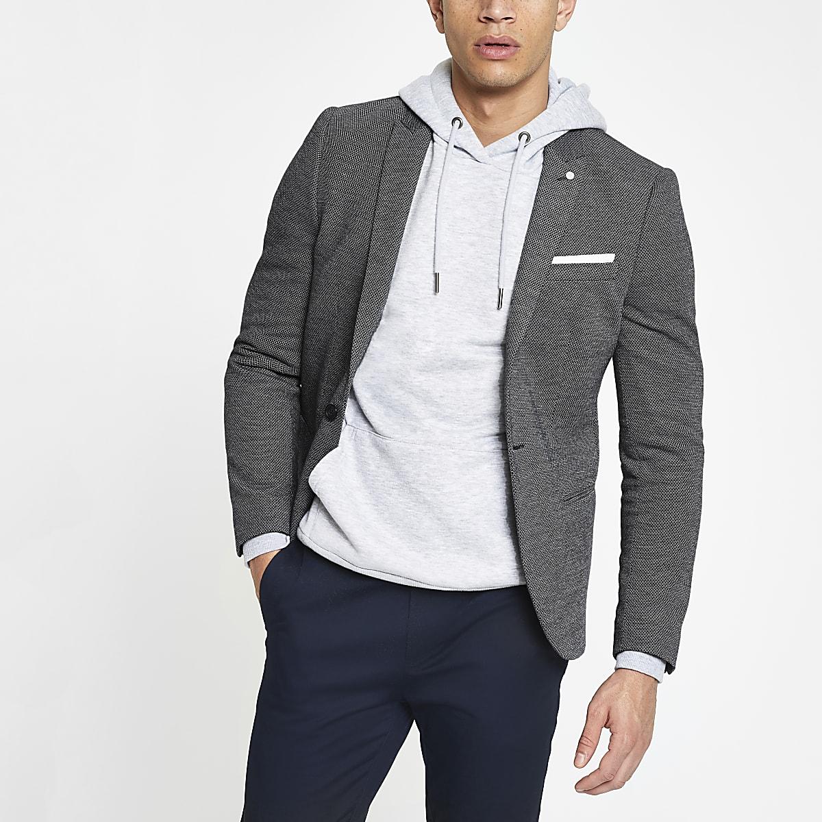 Marineblauer Skinny Fit Blazer