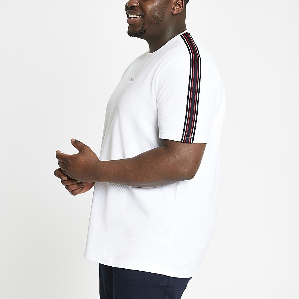 Big & Tall – Prolific – Weißes T-Shirt