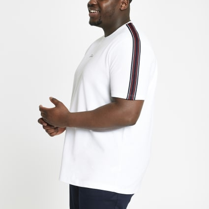 Big and Tall white Prolific T-shirt