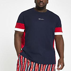 """Big & Tall – Marineblaues T-Shirt """"Prolific"""""""