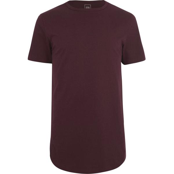 River Island - t-shirt long  à ourlet - 5