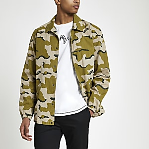 Minimum green camo jacket