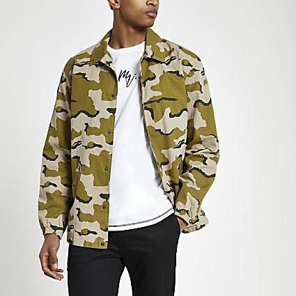 Minimum green camo jacket