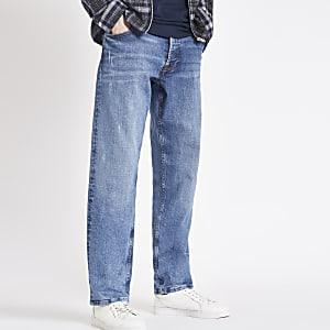 Pepe Jeans - Callen - Zwarte relaxte jeans