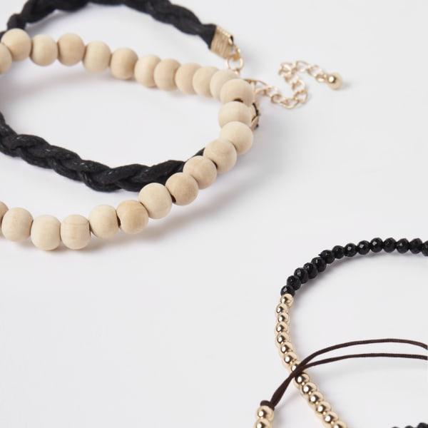 River Island - lot de bracelets en perles - 2
