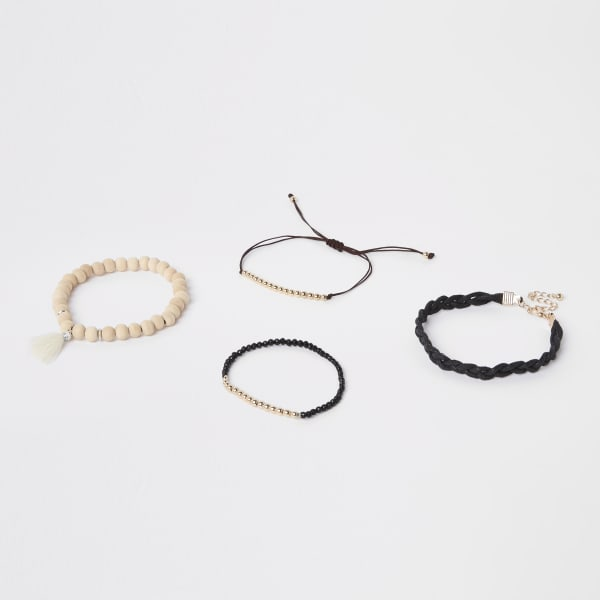 River Island - lot de bracelets en perles - 1