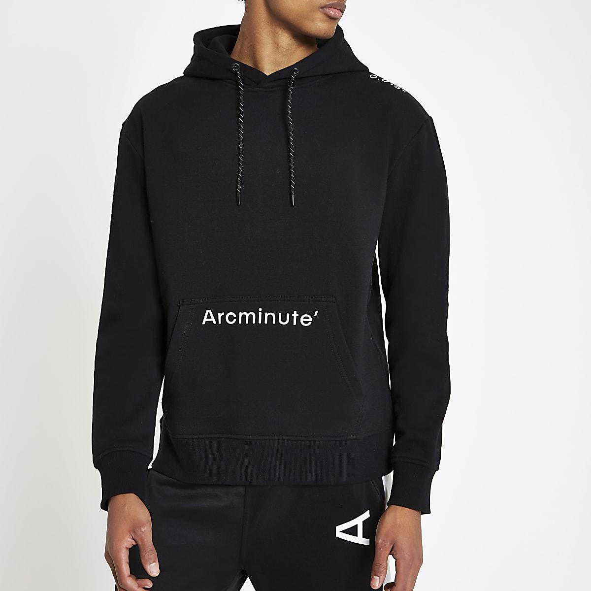 Arcminute – Sweat à capuche noir